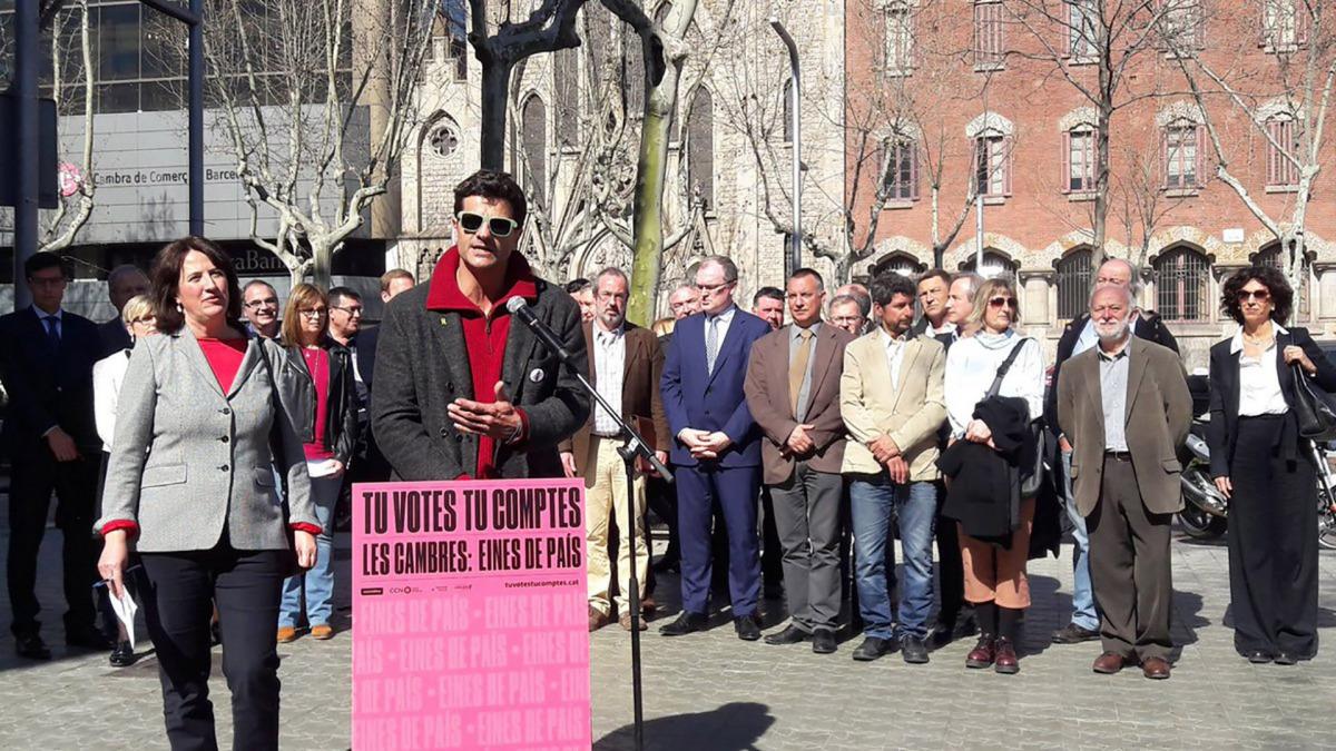 Joel Joan, un dels noms de la candidatura col·lectiva independentista a la Cambra de Comerç de Barcelona