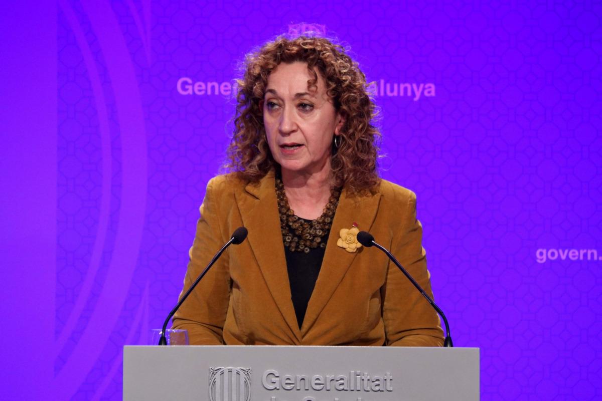 La consellera de Justícia, Ester Capella, en una imatge d'arxiu