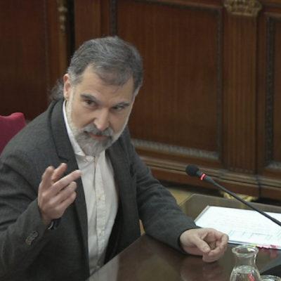 Jordi Cuixart, al judici de l'1-O