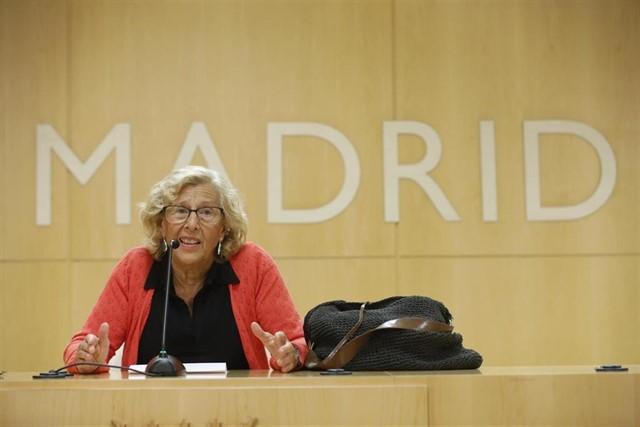 Manuela Carmena, en una imatge d'arxiu