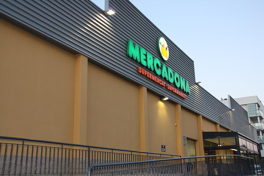 Un supermercat de la cadena Mercadona