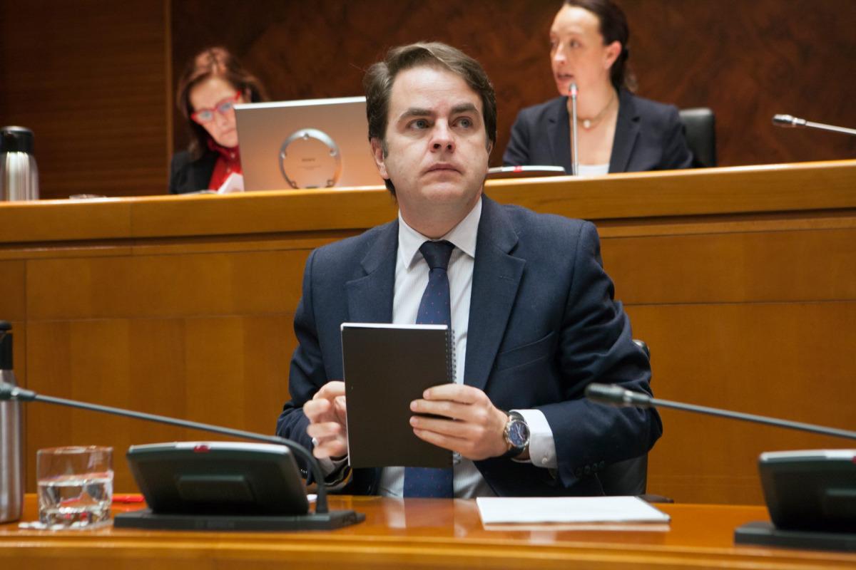 L'exsecretari d'Estat d'Administració Territorial i executordel 155 a Catalunya, Roberto Bermúdez de Castro