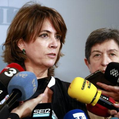 La ministra de Justícia en funcions, Dolores Delgado