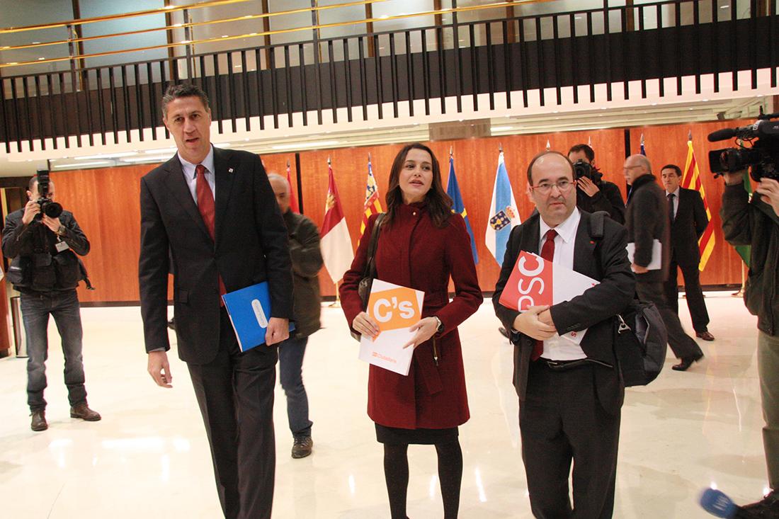 Arrimadas, García Albiol i Iceta, al Tribunal Constitucional
