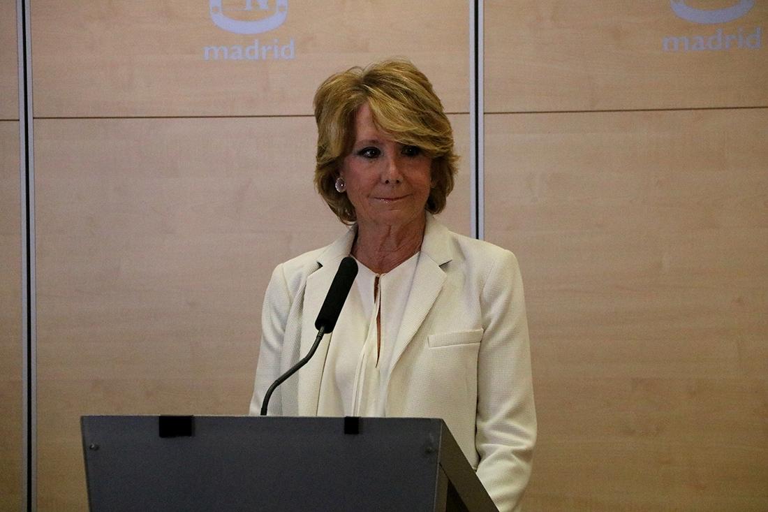 Esperanza Aguirre, en una imatge d'arxiu