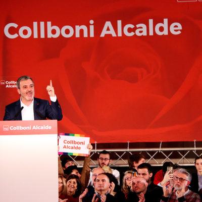 El candidat del PSC a l'alcaldia de Barcelona, Jaume Collboni