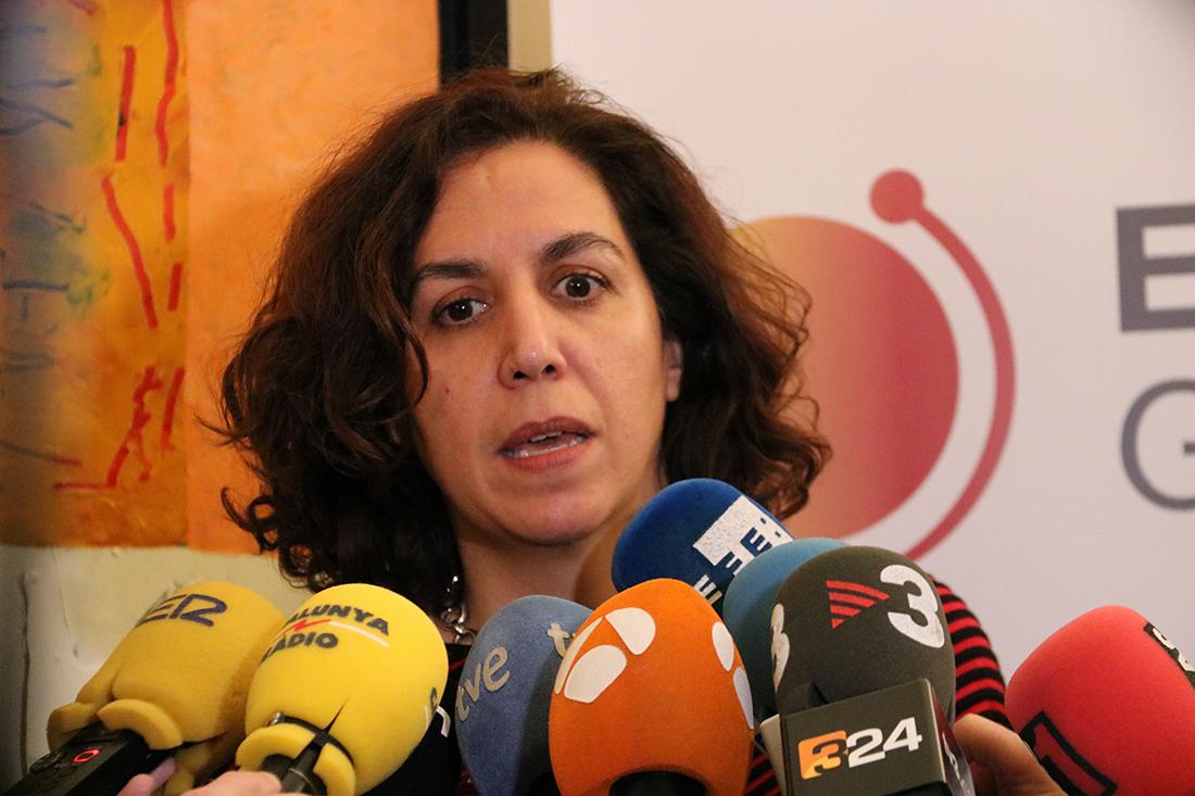 La secretària d'Estat d'Espanya Global, Irene Lozano