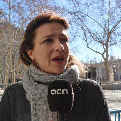 La diputada islandesa d'esquerres, Rósa Björk Brynjólfsdóttir
