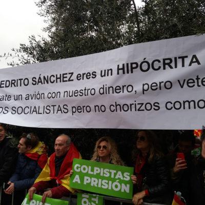 Manifestació catalanofòbica a Madrid