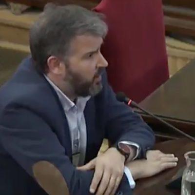 El publicista Ferran Burriel, director de l'agència Nothingad, ha declarat al TS