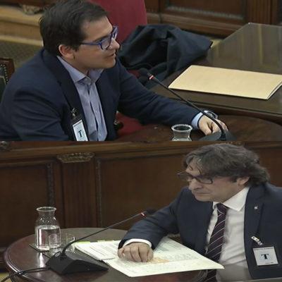 José María Espejo Saavedra i David Pérez han declarat al Suprem pel judici de l'1-O