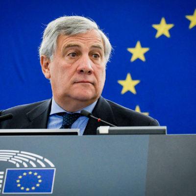 Antonio Tajani, president del Parlament Europeu