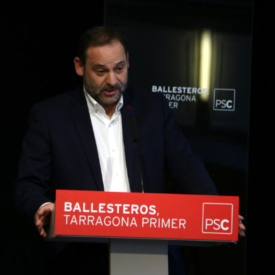 El ministre de Foment, José Luís Ábalos