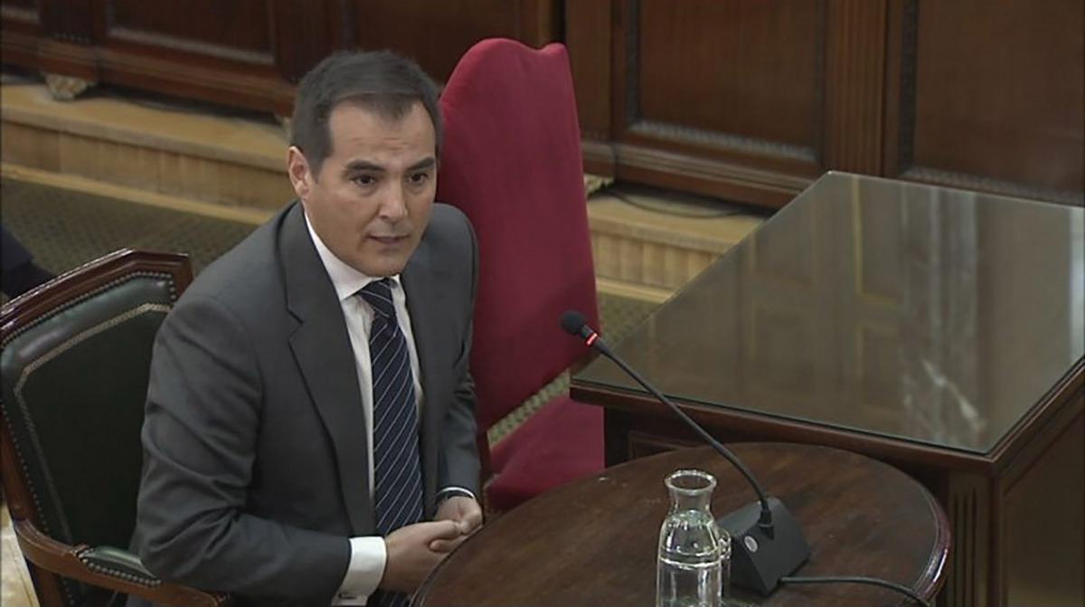 L'exsecretari d'Estat de Seguretat, José Antonio Nieto, al judici de l'1-O