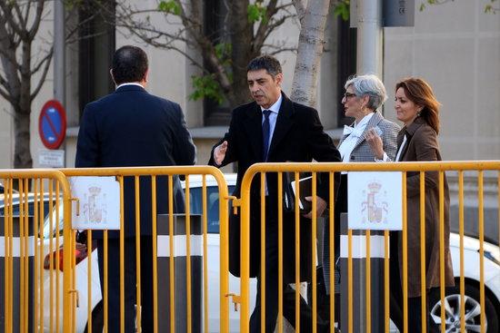 El Major Trapero, a les portes del Tribunal Suprem / ACN