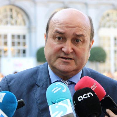 El president del PNB, Andoni Ortuzar