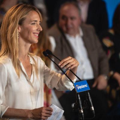 La cap de llista del PP per Barcelona a les eleccions generals, Cayetana Álvarez de Toledo