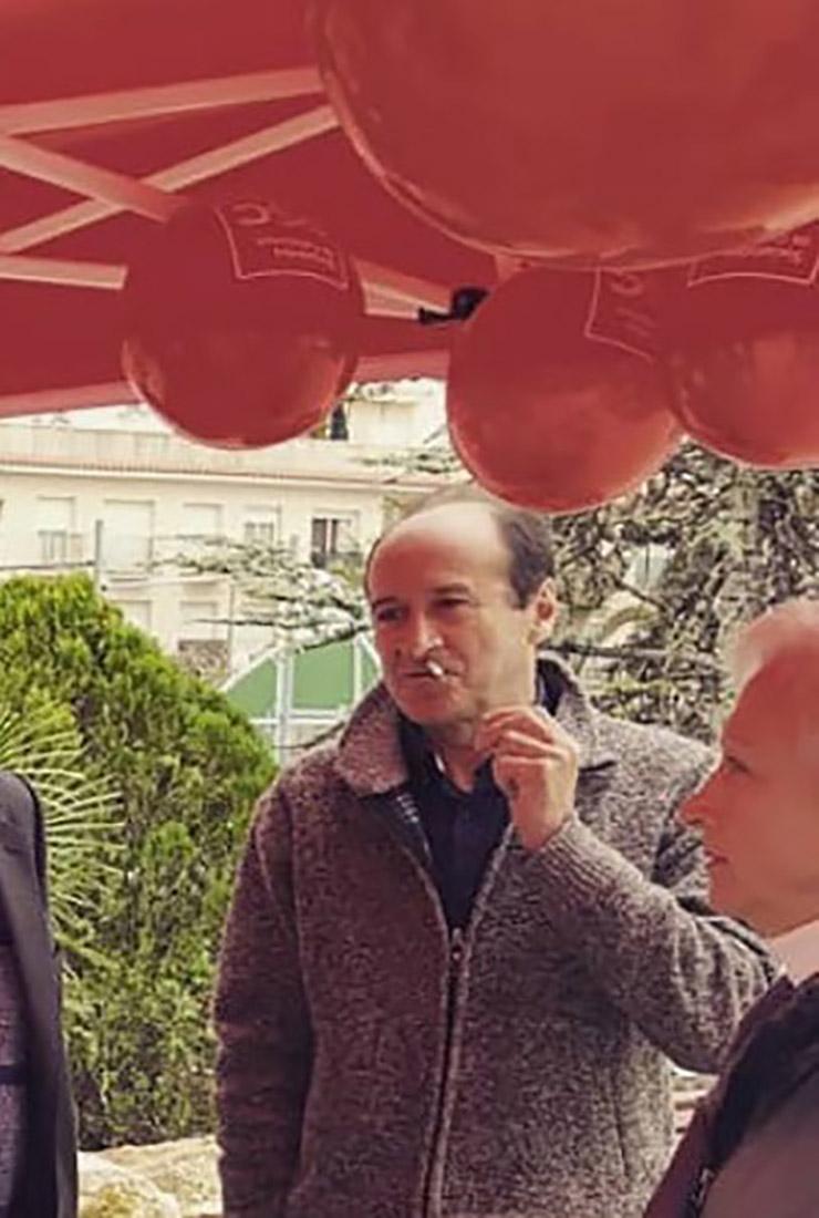Vicente Peñarrubia, en una imatge d'arxiu/Twitter @pscrodadebera