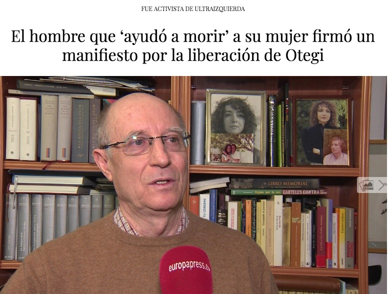 Una captura de pantalla de l'article d'Intereconomía