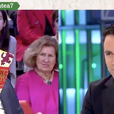 Captura de pantalla del debat a La Sexta