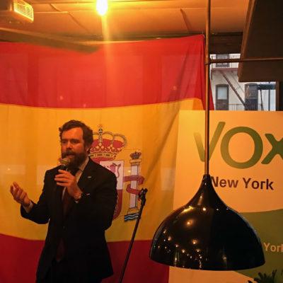 Iván Espinosa de los Monteros, líder de Vox
