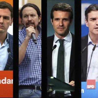 Els andidats pel 28-A que participaran en els debats electorals de RTVE i Antena 3