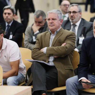 Pla mig d''El Bigotes', Pablo Crespo i Francisco Correa en la jornada del judici de la trama valenciana de Gürtel a l'Audiència Nacional