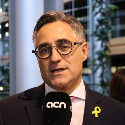 L'eurodiputat Ramon Tremosa (PDeCAT)