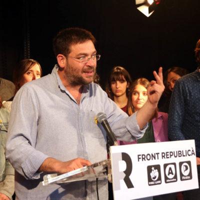 El cap de llista del Front Republicà per Barcelona a les eleccions espanyoles, Albano-Dante Fachin