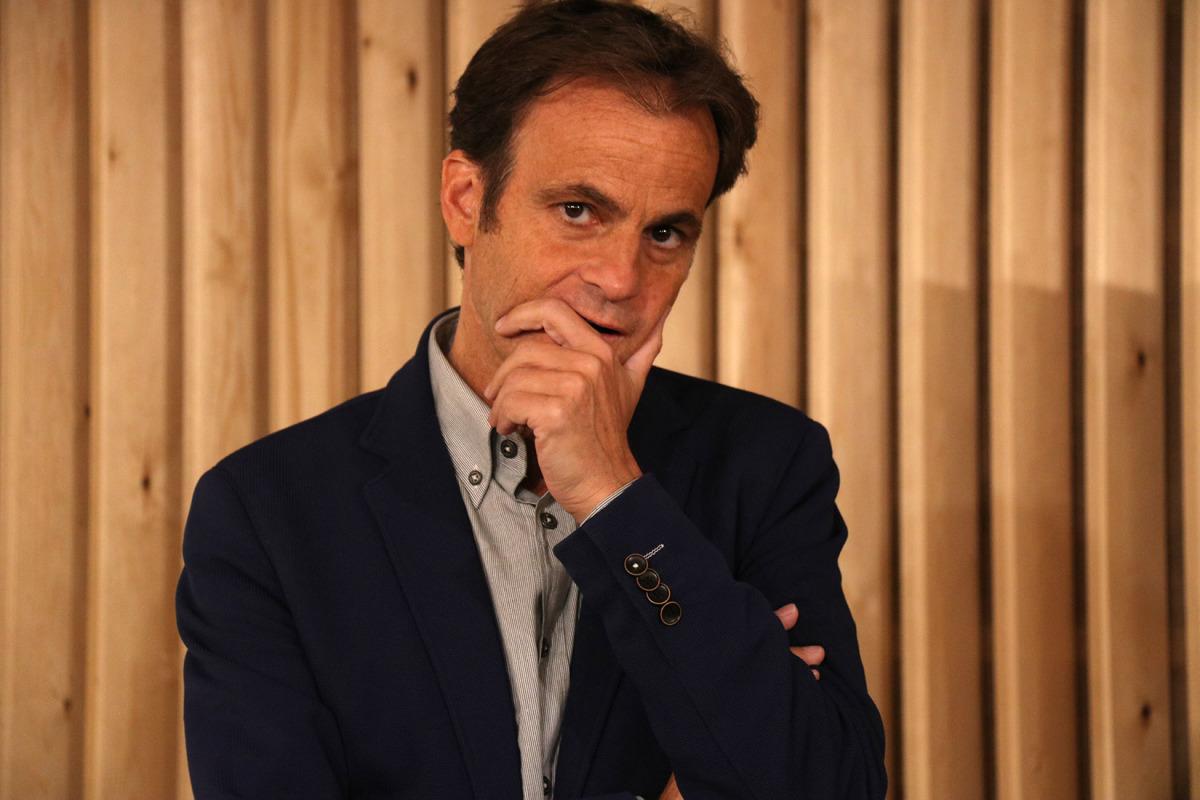 El candidat d'En Comú Podem al Congrés, Jaume Asens, en una imatge d'arxiu