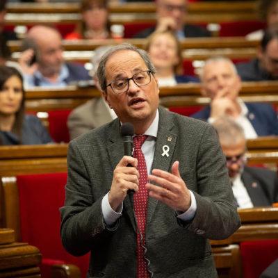 Torra, al Parlament/ EP