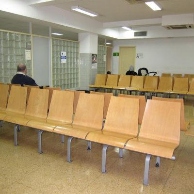 Imatge de la sala d'espera d'un CAP