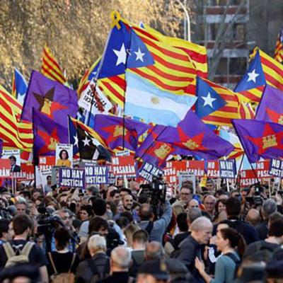 Manifestació a Madrid pel dret a decidir/ Izca.net