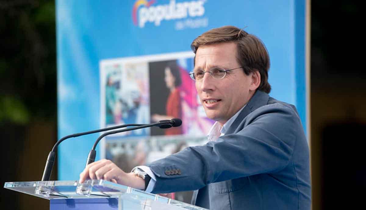 José Luis Martínez Almeida, alcalde del PP a Madrid