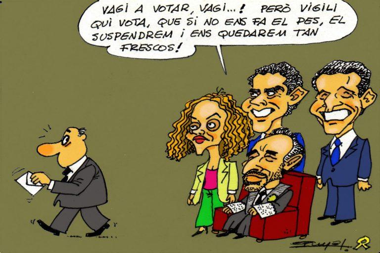 #0129 Marchena i els seus titelles anul•len  la democràcia