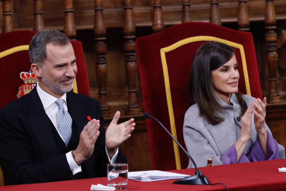 Els reis d'Espanya, en una imatge d'arxiu
