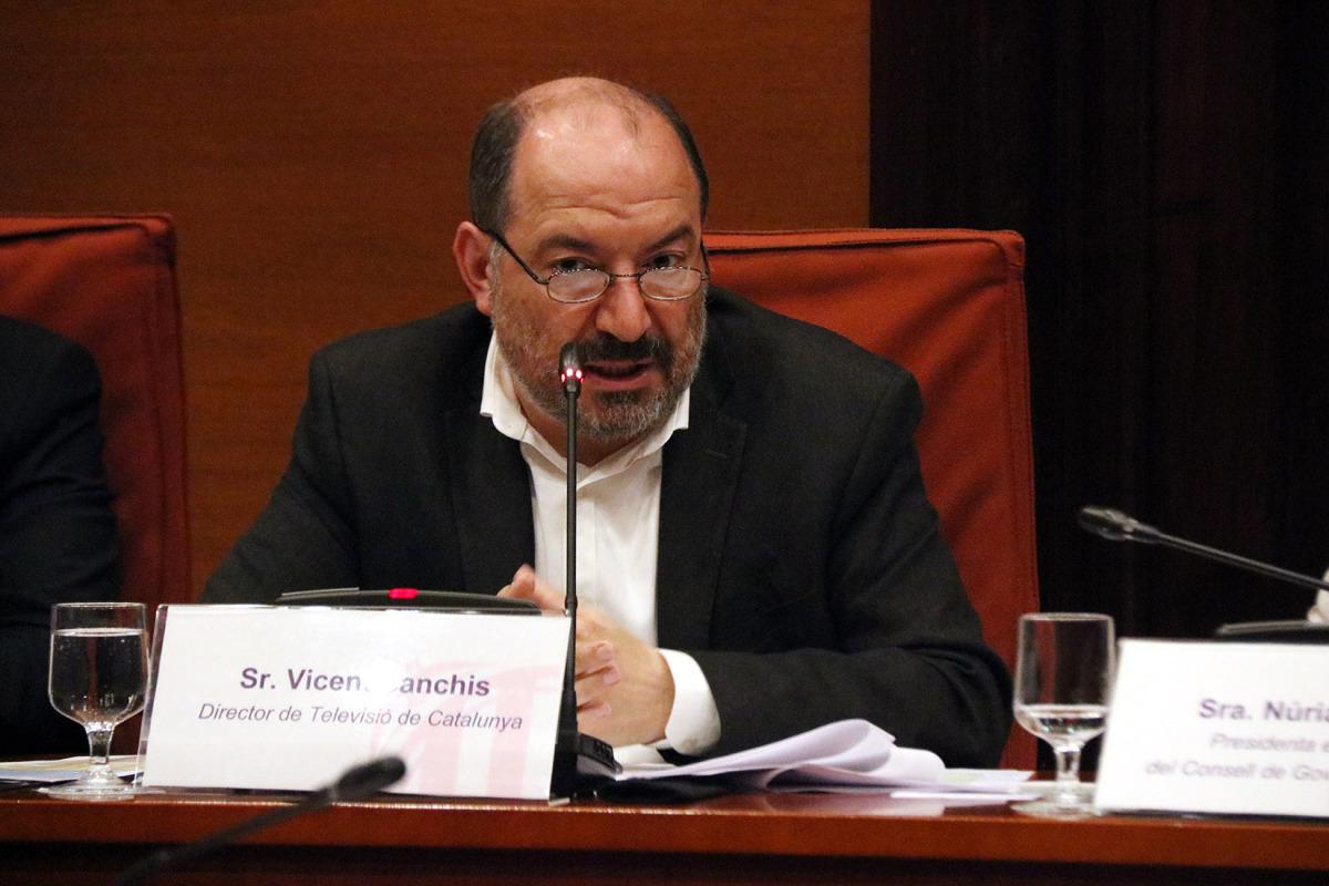 El director de TVC, Vicent Sanchis