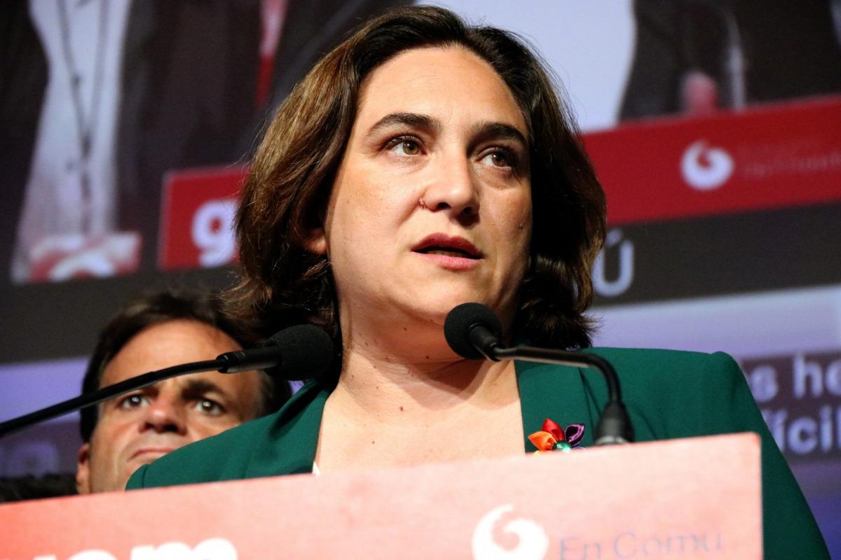 Ada Colau, després de conèixer els resultats de les eleccions a Barcelona, el 26 de maig del 2019