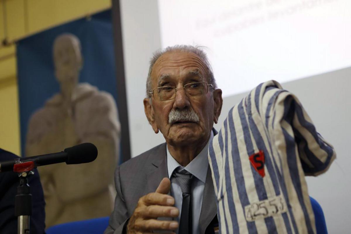 Vicente García Riestra, últim supervivent espanyol del camp nazi de Buchenwald