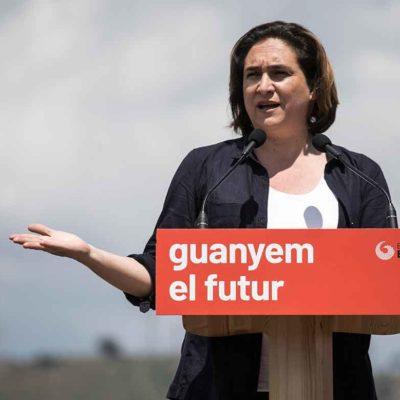 Ada Colau, en una imatge d'arxiu / Barcelona en Comú