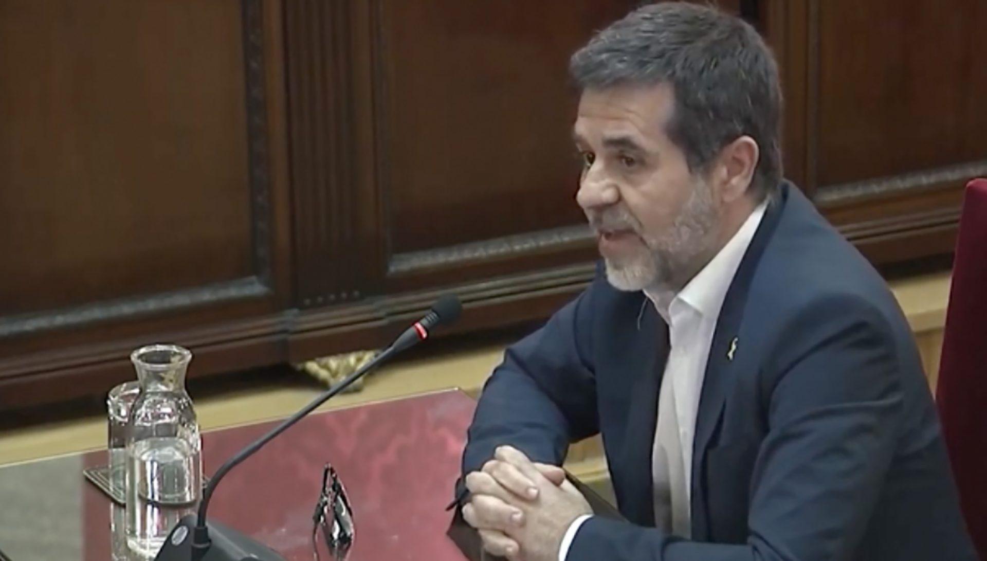 Jordi Sànchez, el darrer dia de judici al Suprem