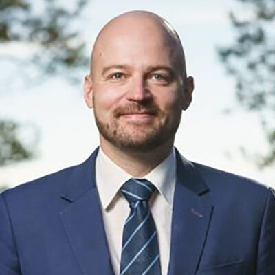 El diputat finlandès, Mikko Kärnä/ Twitter @KarnaMikko