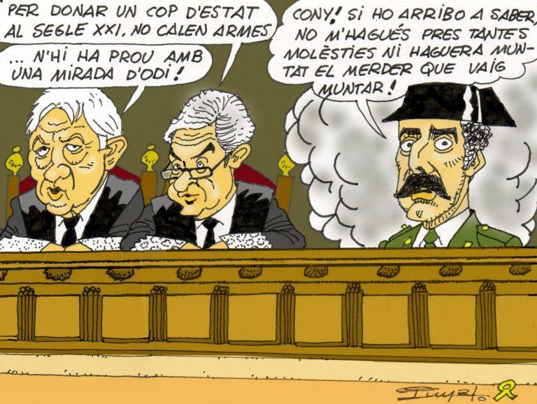 #0132 Tejero, font d'inspiració de la fiscalia al judici de la ignomínia