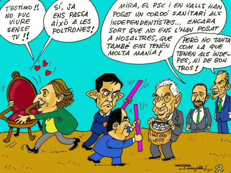 #0133 El pacte inconfessable d'Ada Colau amb Iceta i Valls