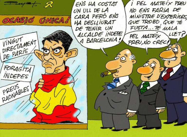 #0134 Manuel Valls, serà gràcies a Ada Colau, ministre d'exteriors d'Espanya?