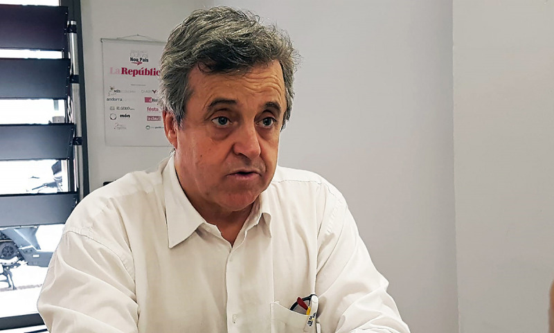 Toni Morral, secretari general de la Crida Nacional per la República