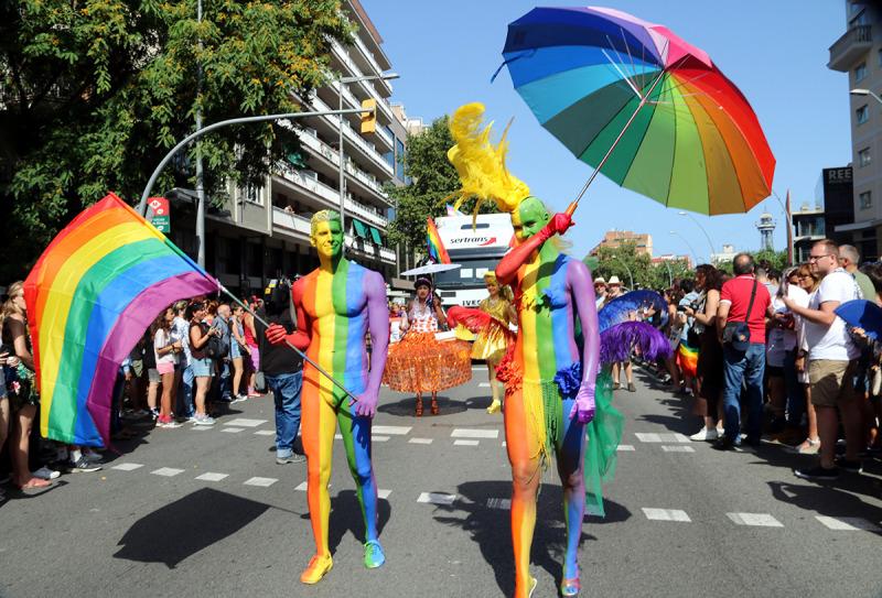 Manifestació del Pride BCN 2018