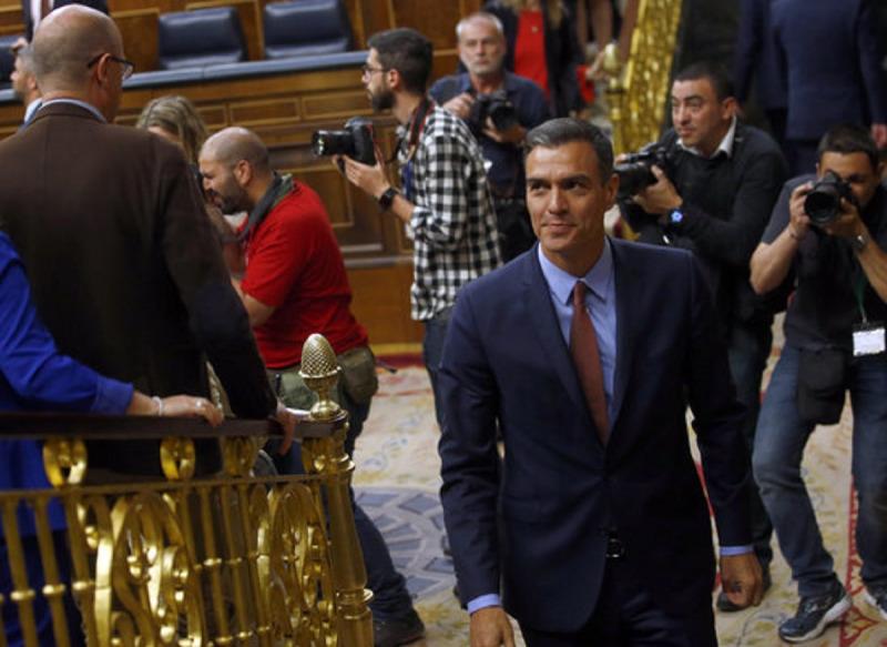 El president del govern espanyol, Pedro Sánchez, en una imatge d'arxiu