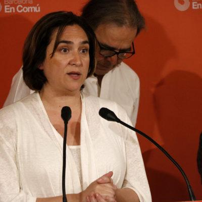 La candidata de Barcelona en Comú a l'alcaldia de la capital catalana, Ada Colau