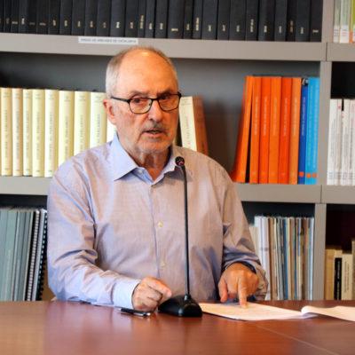 El síndic de greuges de Catalunya, Rafael Ribó, en una imatge d'arxiu
